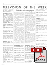 Television pages for 1937 whilst the Television Supplement was being published